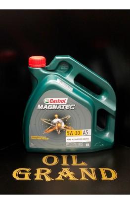 CASTROL Magnatec 5W30 A5, синтетическое, 4л