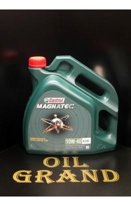 CASTROL Magnatec 10W40 A3/B4, полусинтетическое, 4л