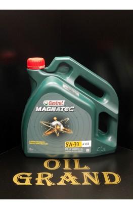 CASTROL Magnatec 5W30 A3/B4, синтетическое, 4л