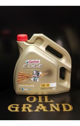 CASTROL EDGE 5W30 C3, синтетическое, 4л