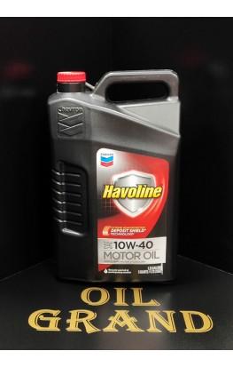CHEVRON Havoline Motor Oil 10W40, полусинтетическое, 4.73л