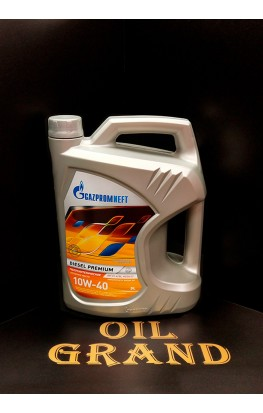 ГазПромНефть Diesel Premium 10W40, полусинтетическое, 5л