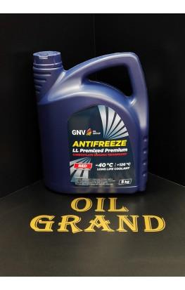 GNV Antifreeze LL Premixed Premium, 5кг