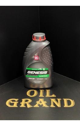 Лукойл GENESIS GLIDETECH 5W30, синтетическое, 1л