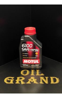MOTUL 6100 SAVE-nergy 5W30, синтетическое, 1л