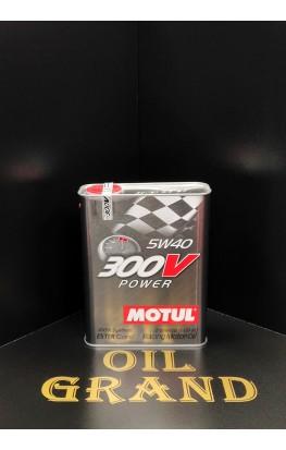 MOTUL 300V POWER 5W40, синтетическое, 2л