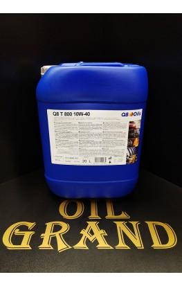 Q8 T 800 10W40, полусинтетическое, 20л