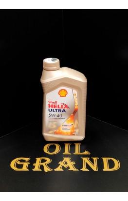 SHELL HELIX ULTRA 5W40, синтетическое, 1л