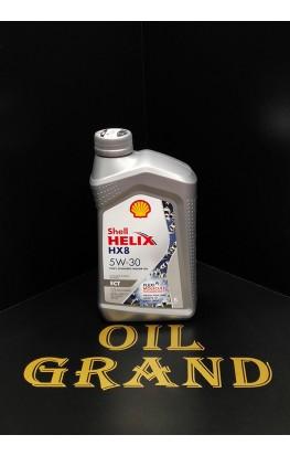 SHELL HELIX HX8 ECT 5W30, синтетическое, 1л
