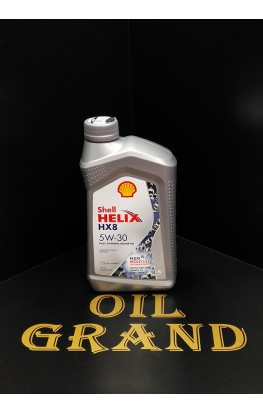 SHELL HELIX HX8 SYNTHETIC A3/B4 5W30, синтетическое, 1л