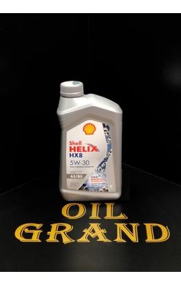 SHELL HELIX HX8 SYNTHETIC A5/B5 5W30, синтетическое, 1л