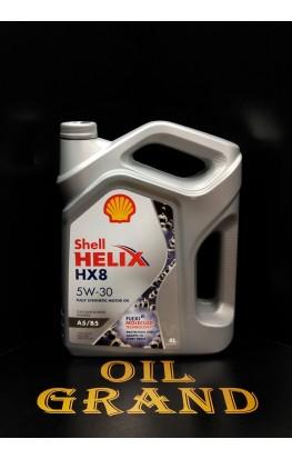 SHELL HELIX HX8 SYNTHETIC A5/B5 5W30, синтетическое, 4л