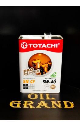 TOTACHI Grand Touring 5W40, синтетическое, 4л