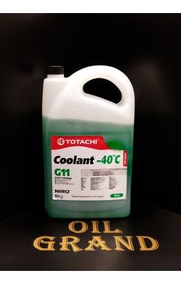 TOTACHI NIRO Coolant G11 Green -40C, 5л