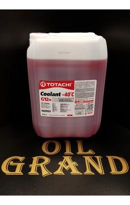 TOTACHI NIRO Coolant G12 Red -40C, 20л