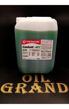 TOTACHI NIRO Coolant G11 Green -40C, 20л