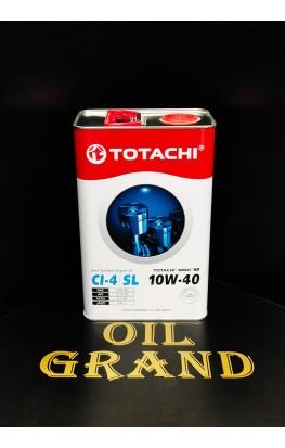 TOTACHI NIRO HD SEMI-SYNTHETIC 10W40, полусинтетическое, 4л