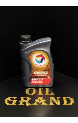 Total Quartz 9000 Energy 0W40, синтетическое, 1л