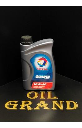 Total Quartz 7000 10W40, полусинтетическое, 1л