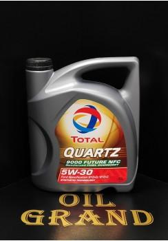 Total Quartz 9000 Future NFC 5W30, синтетическое, 4л