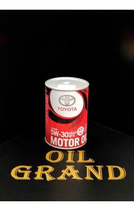 TOYOTA Motor Oil SN/GF-5 5W30, синтетическое, 1л