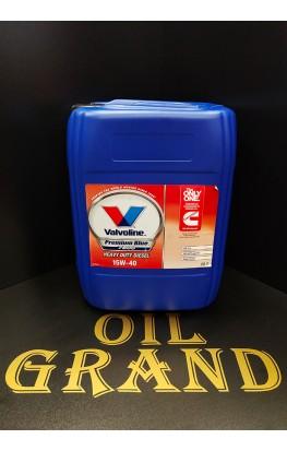 Valvoline Premium Blue 7800 15W40, минеральное, 20л