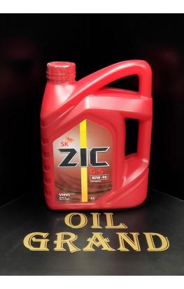 ZIC G-5 80W90, полусинтетическое, 4л